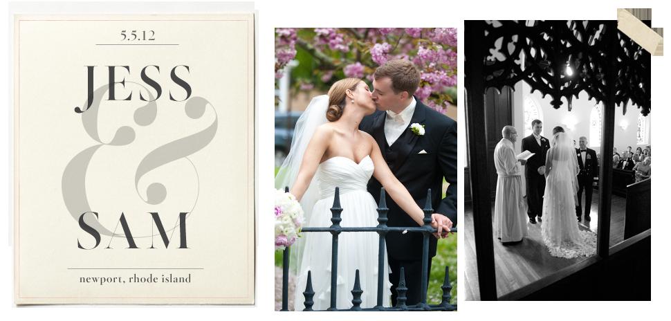 BHLDN Weddings: Jess and Sam