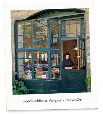 Wendy Addison, Designer & Storyteller