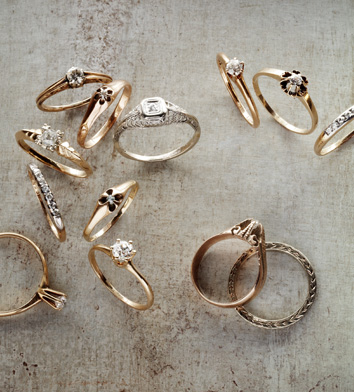 A Brief History of the Wedding Band - See how this timeless expression of love came to be
