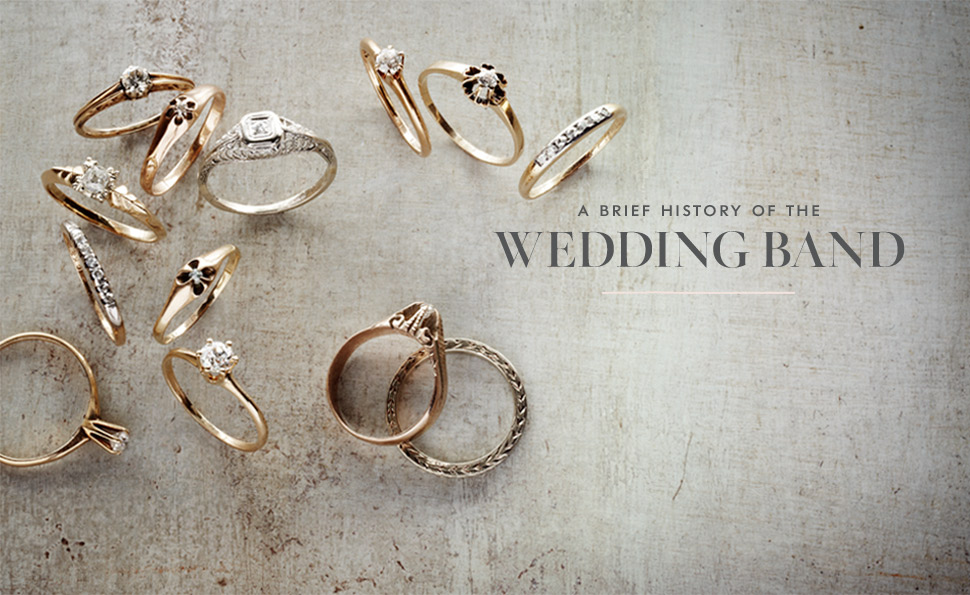 a brief history of wedding bands rings b inspired bhldn