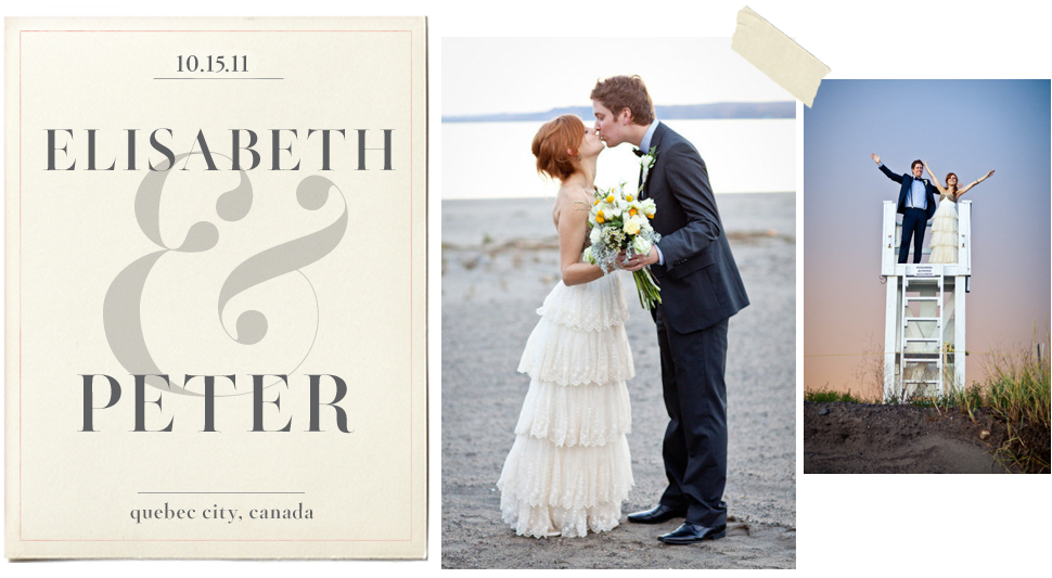 BHLDN Weddings: Elisabeth and Peter