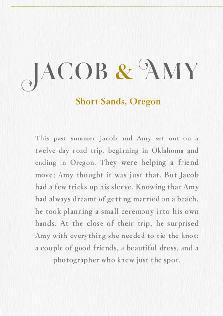 Jacob & Amy