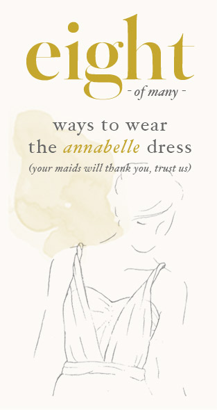 8 (of many) Ways to Wear the Annabelle Dress