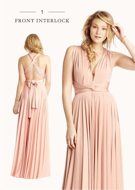 Convertible Bridesmaid Dress Styles | B-Inspired | BHLDN