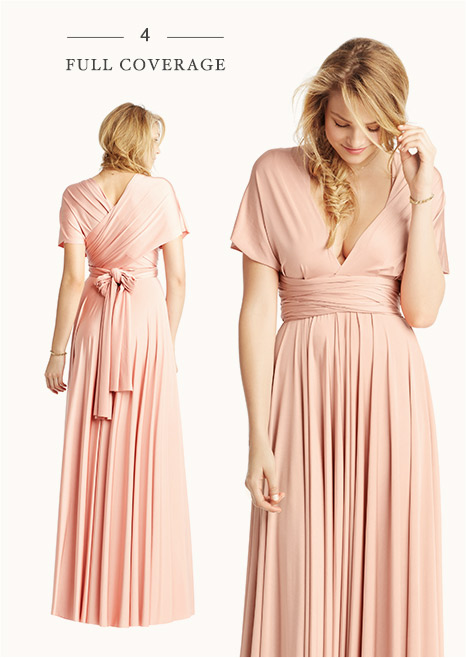 Convertible Bridesmaid Dress Styles B Inspired Bhldn