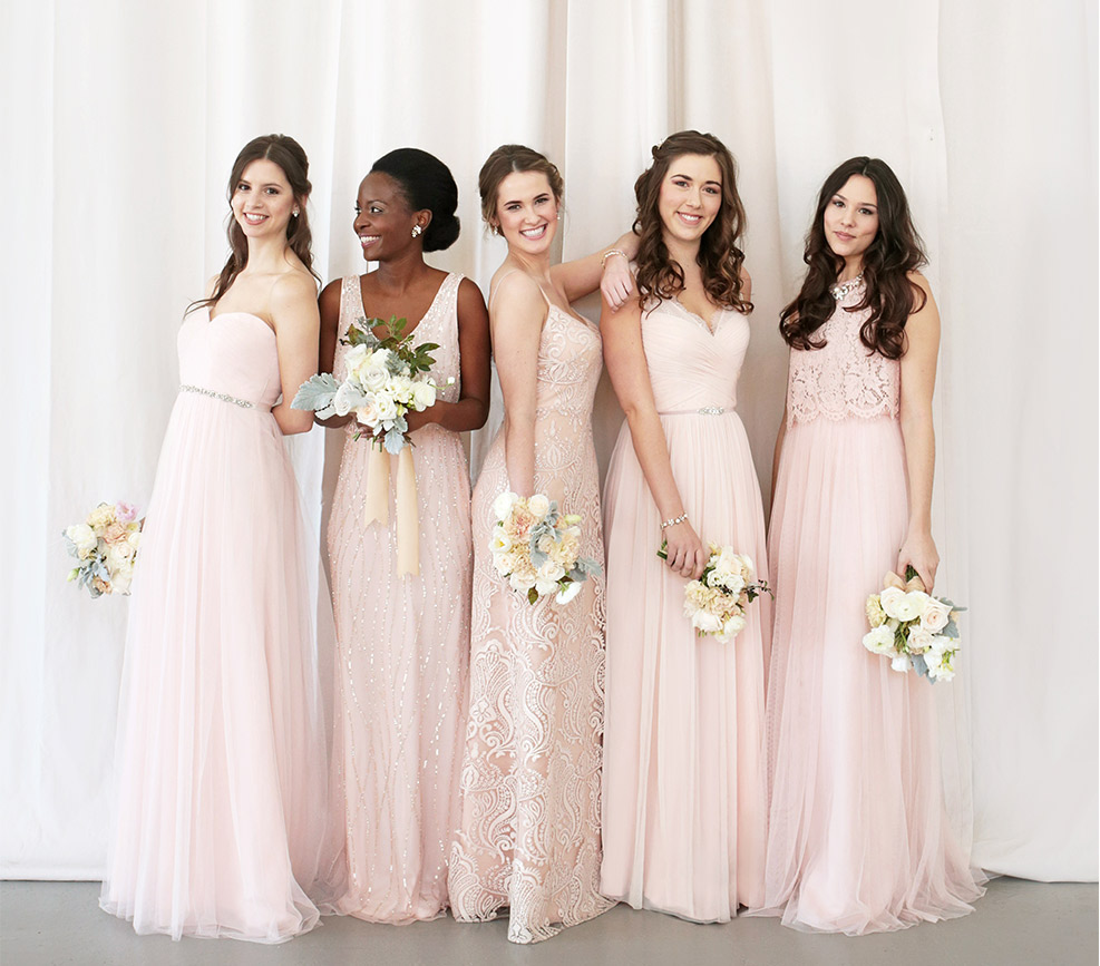 Unique mix and match bridesmaid dresses bhldn introduction to ombrellifo Images