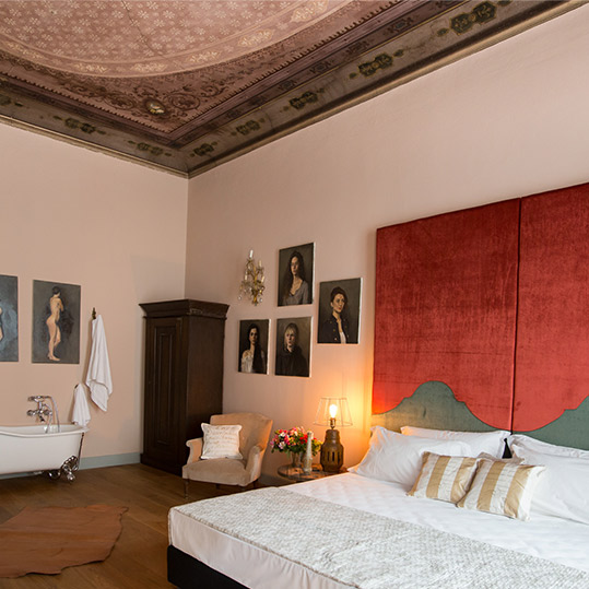 Soprano Suites. Florence, Italy.
