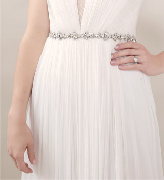 Wedding Dress Belts Bridal Sash 101 Bhldn