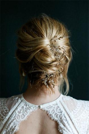 A Guide To Wedding Hair - BHLDN