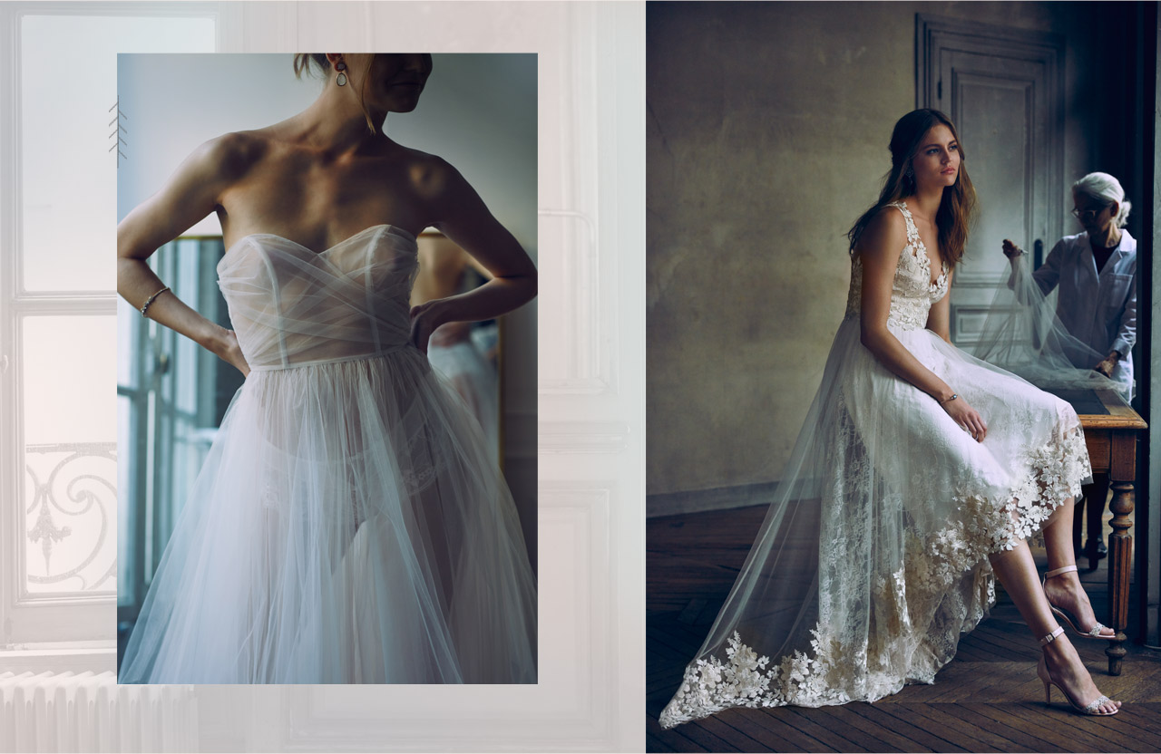 Bella Gown & Opal Gown