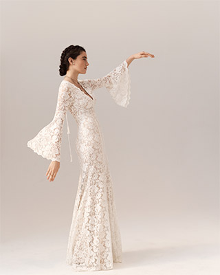 Bhldn wedding dresses vintage inspired wedding dresses gowns see it all junglespirit Choice Image