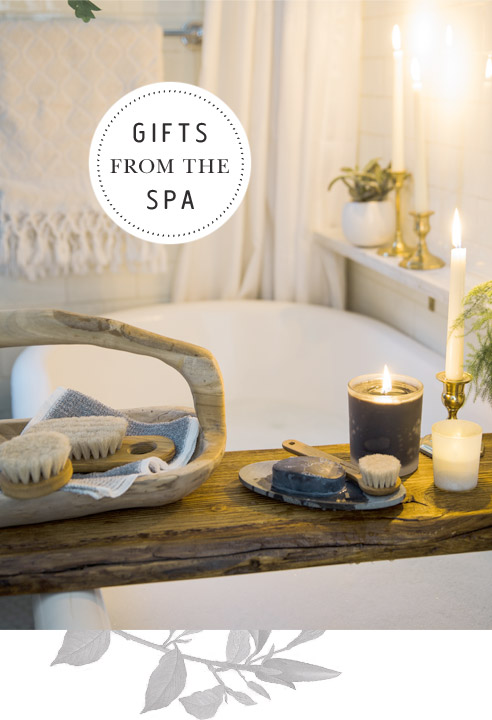 Gifts from the Spa