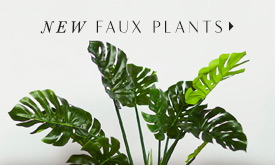 NEW Faux Plants