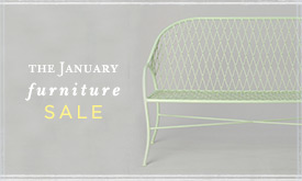 The January Furniture SALE