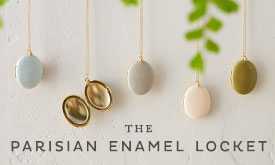 The Parisian Enamel Locket