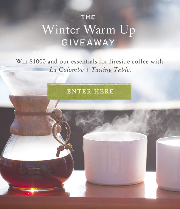 The Winter Warm Up Giveaway