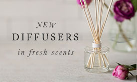 New Diffusers in Fresh Scents