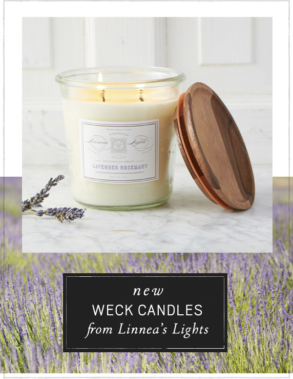 New Weck Candles | from Linnea's Lights