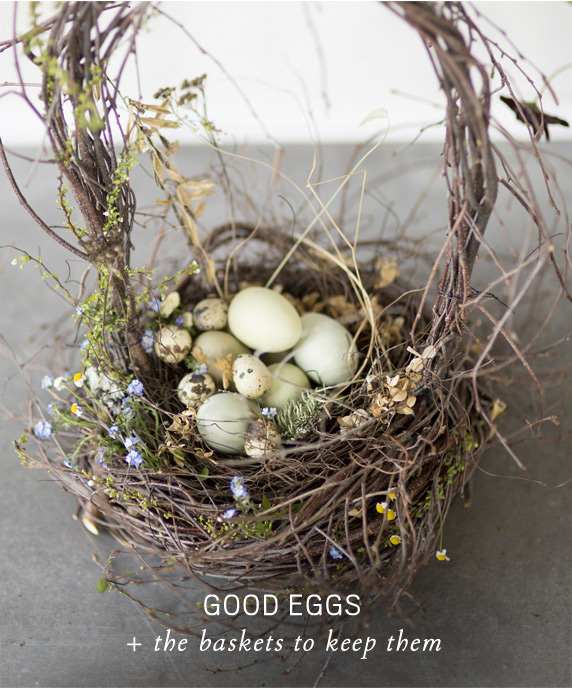 Good Eggs | + the baskets to keep them