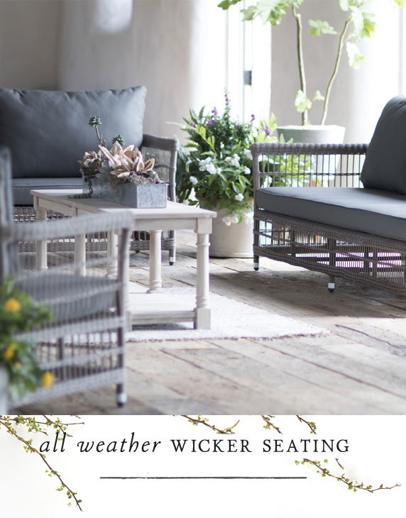 All Weather Wicker Seating