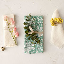 Terrain Table: Botanical Napkin Rings