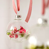 See Our Floating Flower Ornaments
