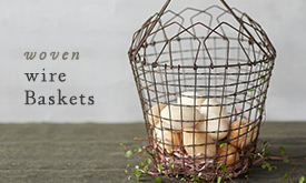 Woven Wire Baskets