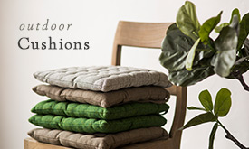 Outdoor Cushions in 3 New + Natural Colors