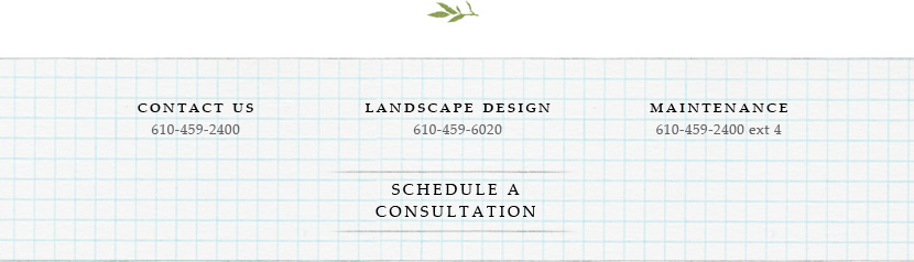 Contact glenn mills landscaping. Contact us 610-459-2400, Landscape design 610-459-6020, Maintenance 610-459-2400 ext 4