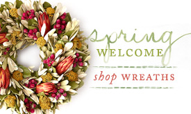 Spring Welcome | Shop Wreaths