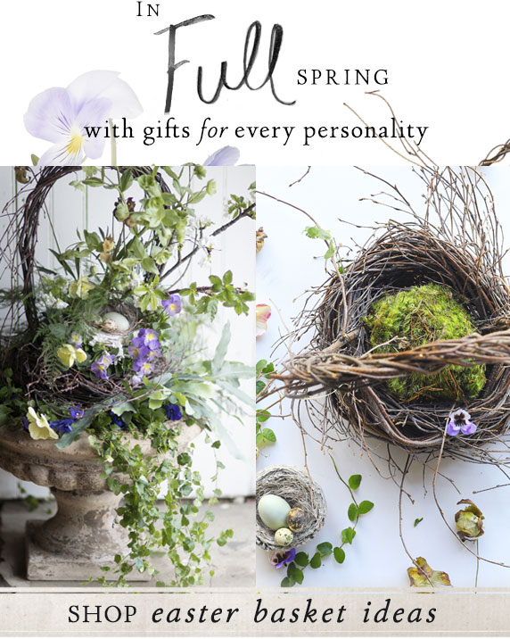 A Basket Full | springtime surprises for every personality | Shop Easter Basket Ideas