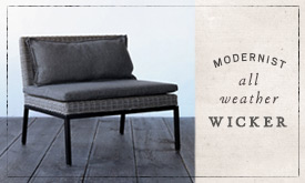 Modernist All Weather Wicker