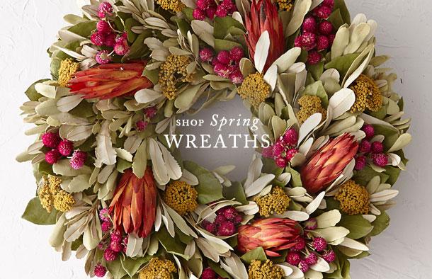 Shop Spring Wreaths