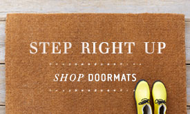 Step Right Up | shop doormats