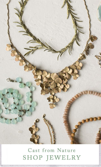 Cast from Nature | shop jewelry