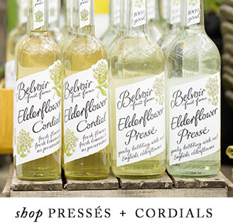 shop pressés + cordials