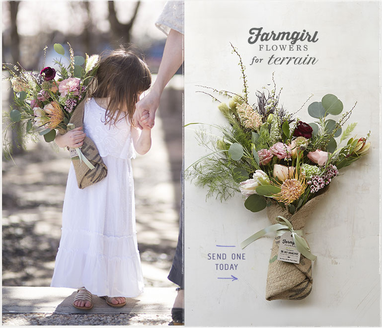 Farmgirl Flowers for terrain | send one today