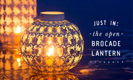 Just In: The Open Brocade Lantern