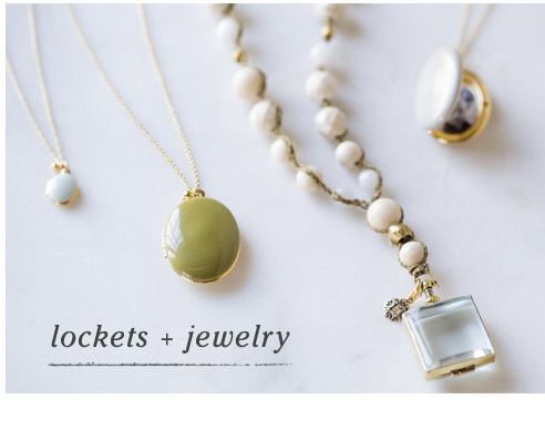 Lockets and Jewelry