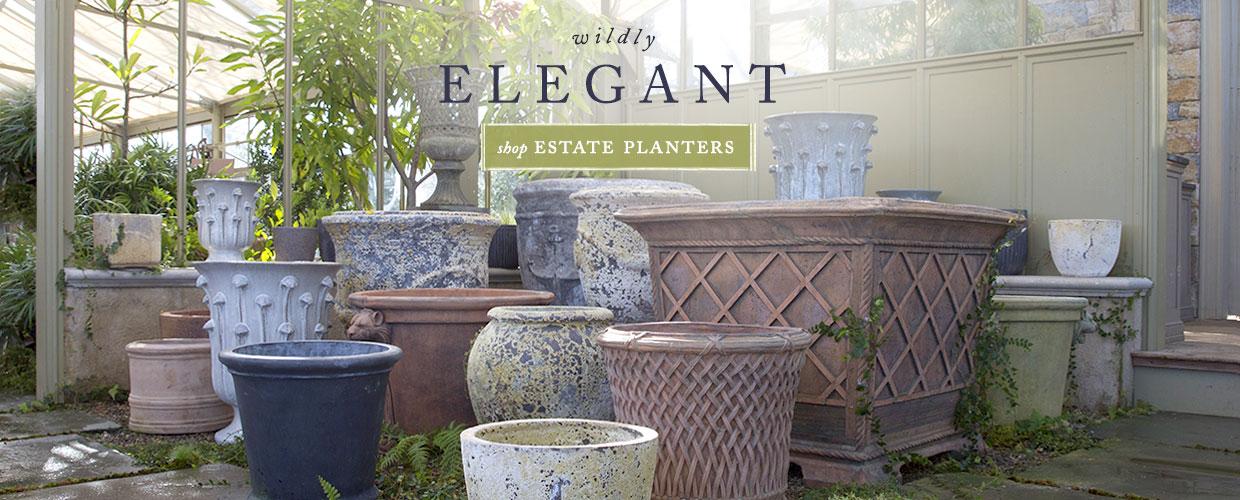 wildly elegant estate planters