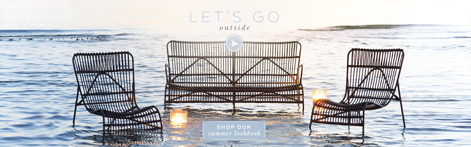 let's go outside | shop the summer living lookbook