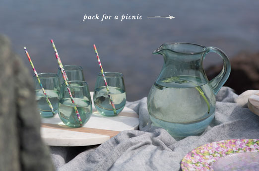 pack for a picnic