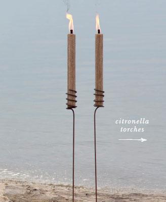 citronella torches