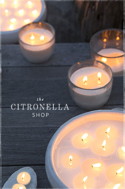The Citronella Shop | your bug free summer starts here