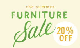 The Furniture Sale | 20% off