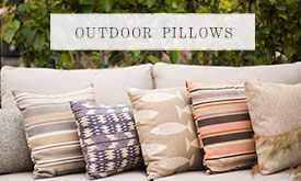 All Weather Outdoor Pillows