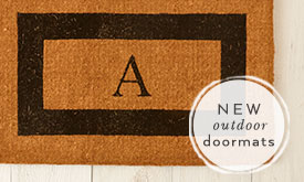 New outdoor doormats
