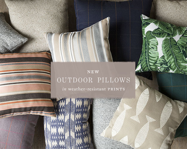 New Outdoor Pillows