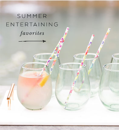 summer entertaining favorites