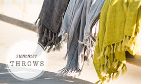 Summer Throws | in every shade